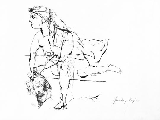 Szalay Lajos: Judit és Holofernes