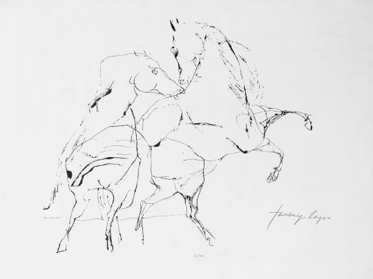 Szalay, Lajos: Pferde