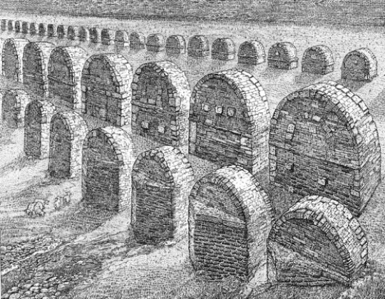 Orosz, István: Abwesenheit II. (Aquaduct)