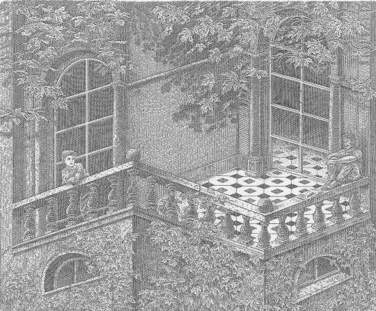 Orosz, István: Die Terrasse (du und ich)