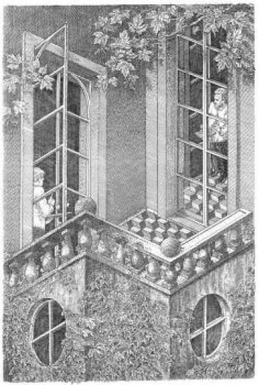 Orosz, István: Der Balkon