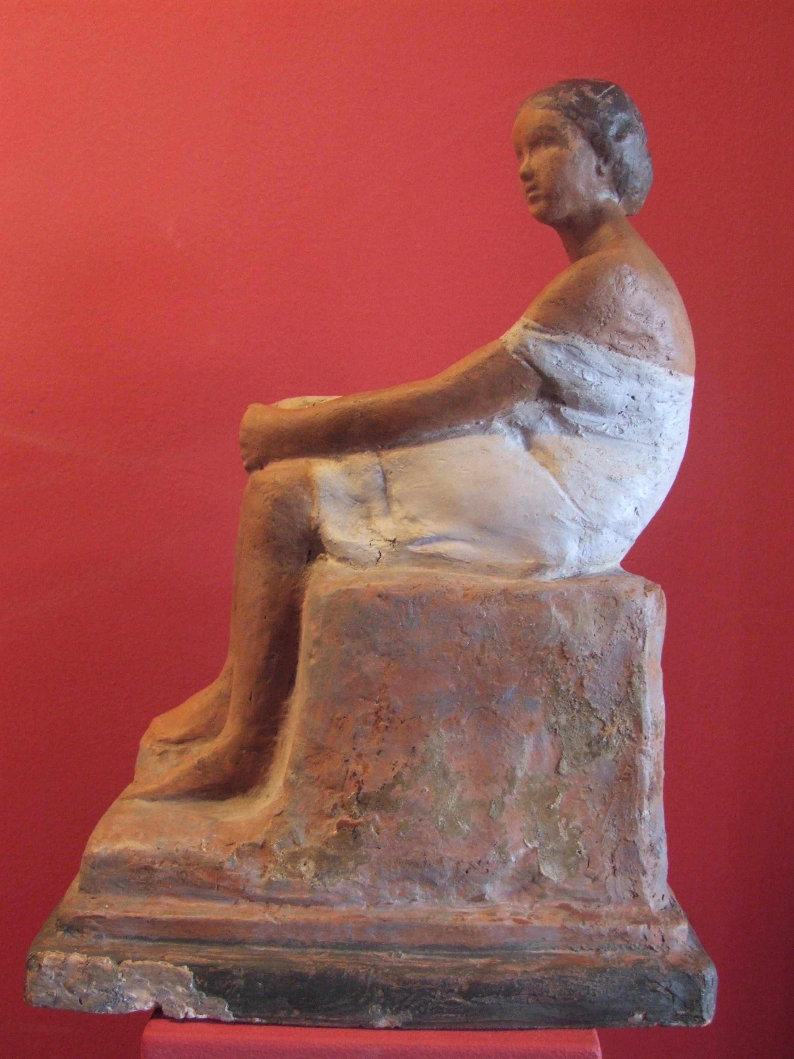 Medgyessy, Ferenc: Sitting woman