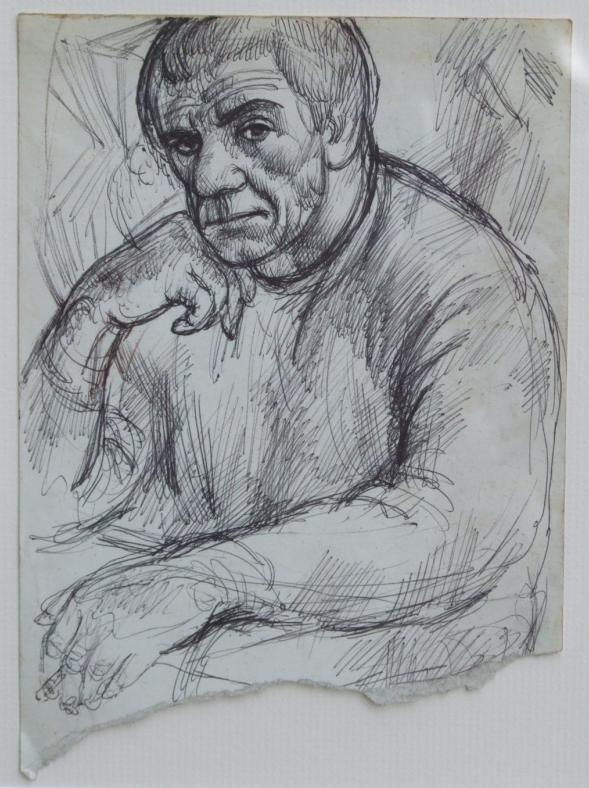 Amerigo Tot: Self portrait