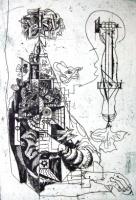 Hincz, Gyula - Kupferstiche: Welteningenieur