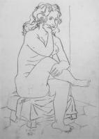 Amerigo Tot: Nude in the studio