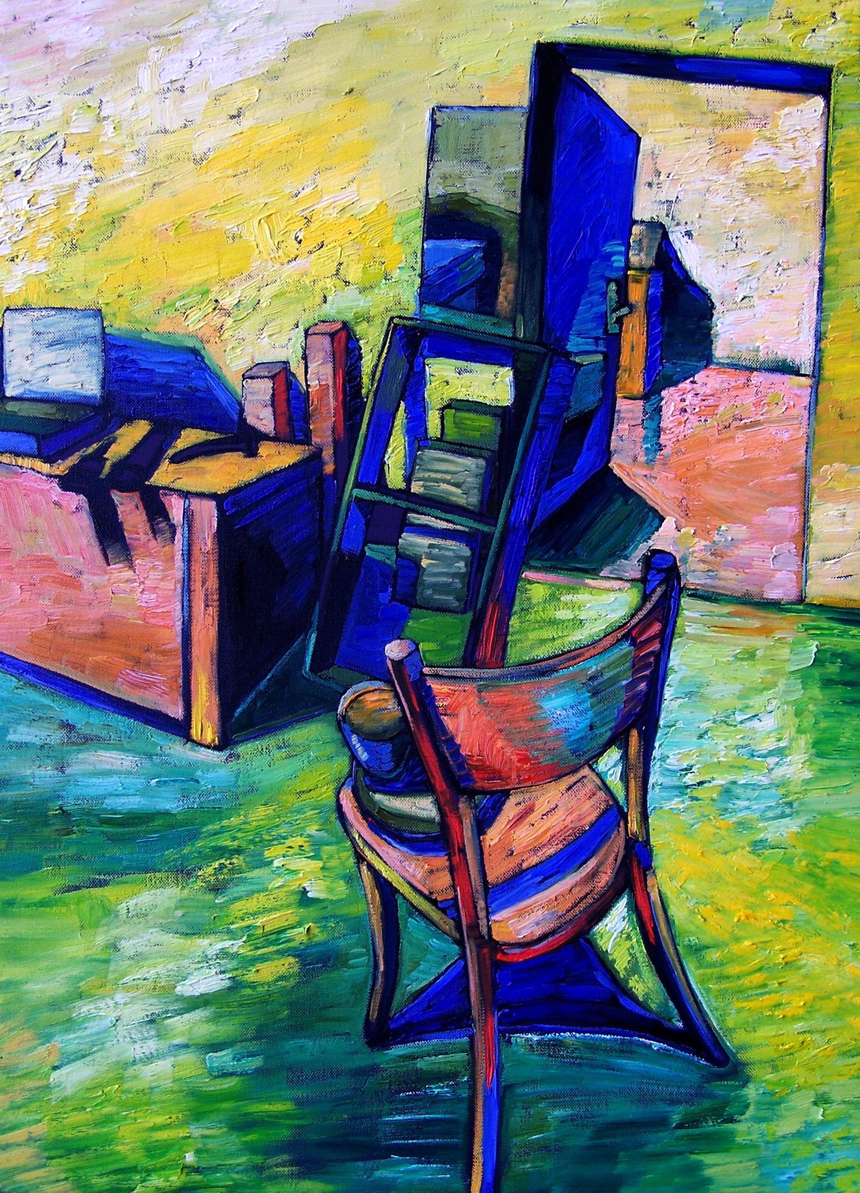 Papageorgiu, Andrea: In the studio I.