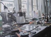 Takáts, Márton: Studio by day
