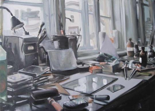 Takáts, Márton: Nappali műterem