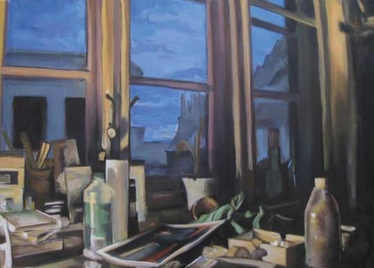 Takáts, Márton: Hajnali műterem