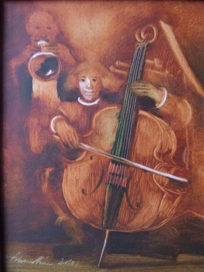 Vinczellér, Imre: Cello and trumpet