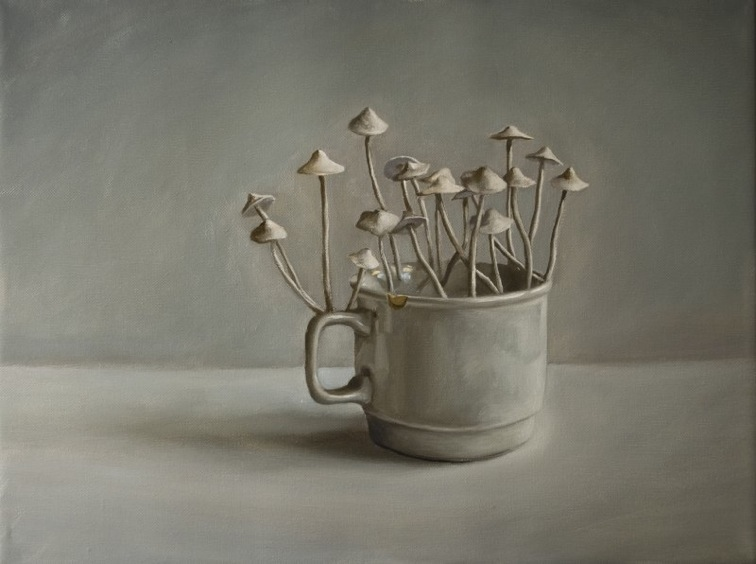Szenteleki, Gábor: Mug mushroom II.