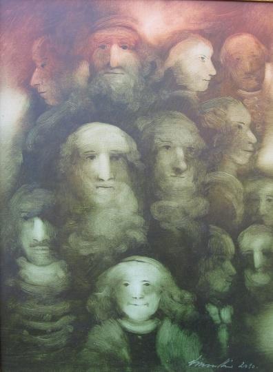 Vinczellér, Imre: Forgotten faces