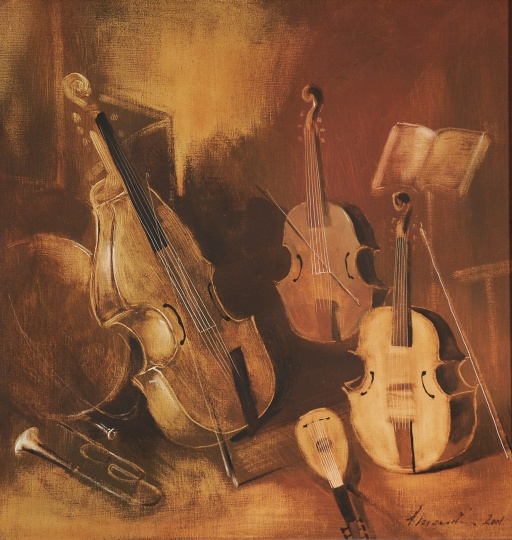 Vinczellér, Imre: Mute instruments II.