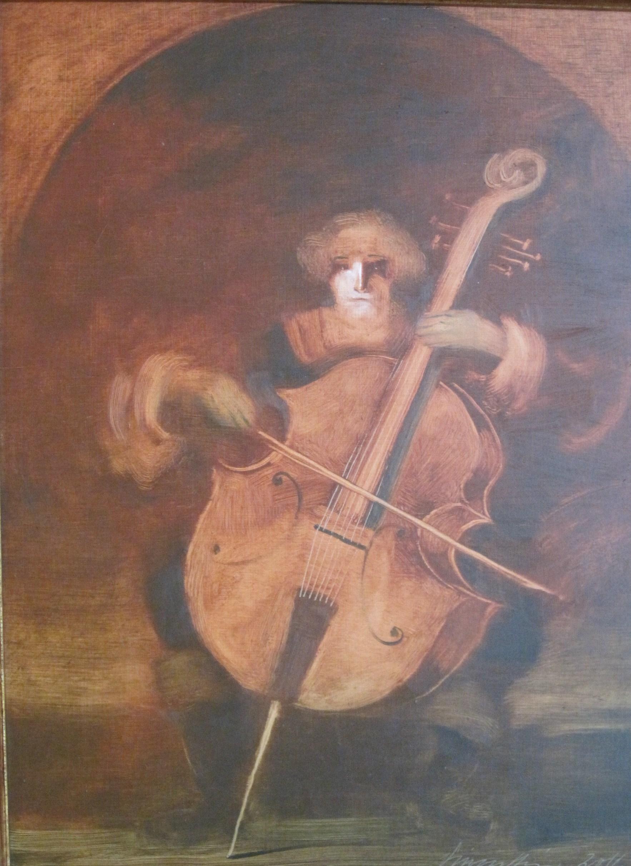 Vinczellér, Imre: Der Cellist