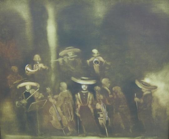 Vinczellér Imre: Koncert előtt