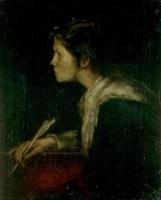 Munkácsy, Mihály: Eva (Milton Studie)