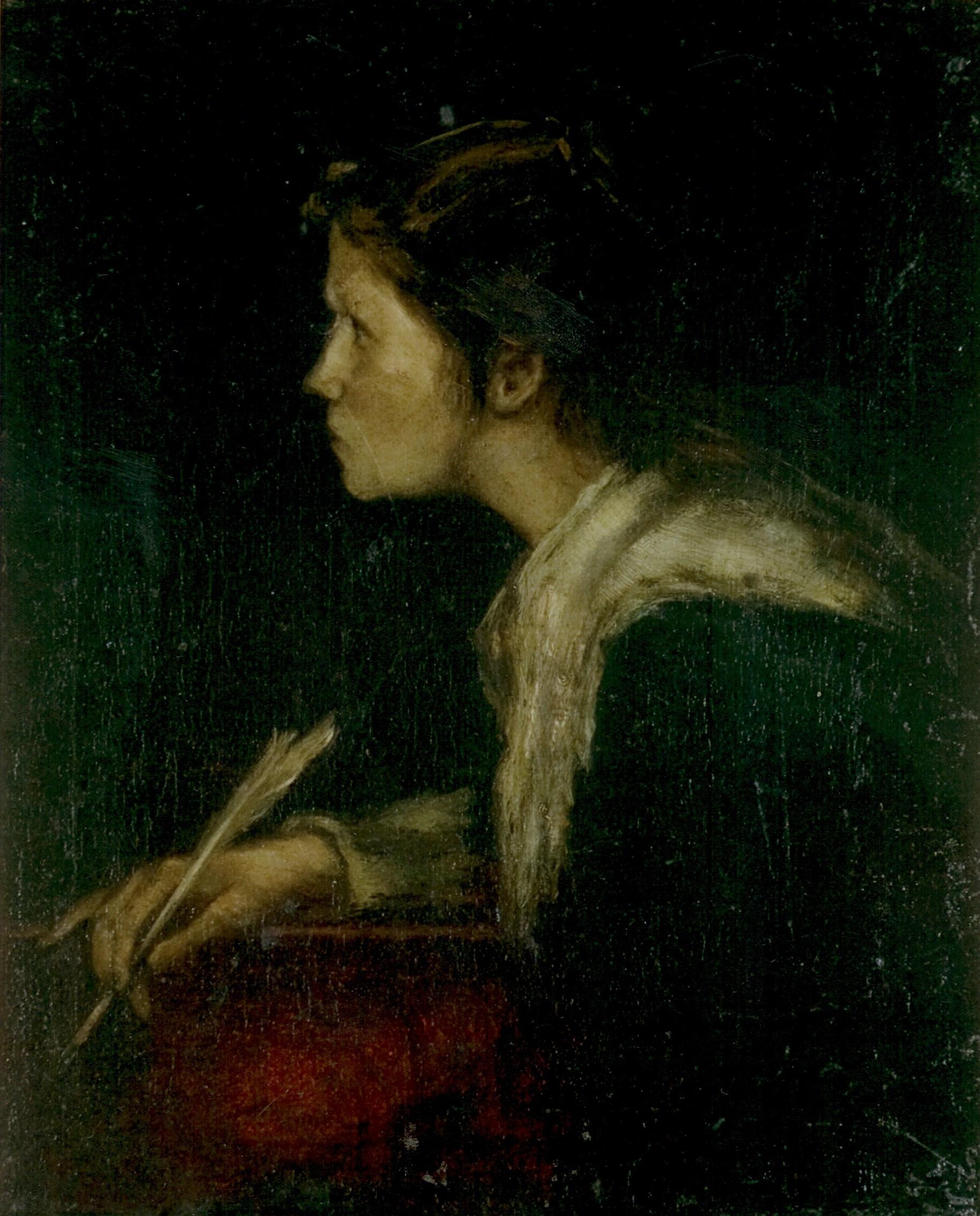 Munkácsy, Mihály: Eve (study for the Milton)