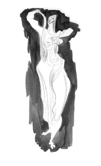 Hincz, Gyula - unique artworks: Dancer II.
