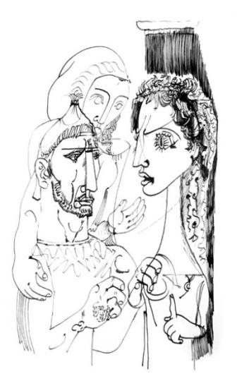 Hincz Gyula  - egyedi alkotások: Féltés