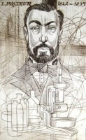 Kass János: Orvosportré - Pasteur