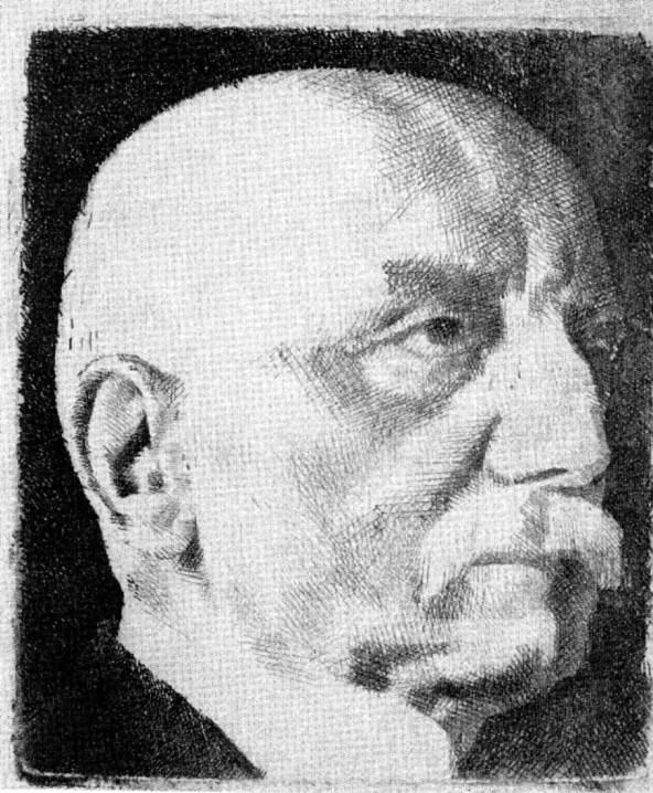 Aba Novák Vilmos: Pasteiner Gyula arcképe