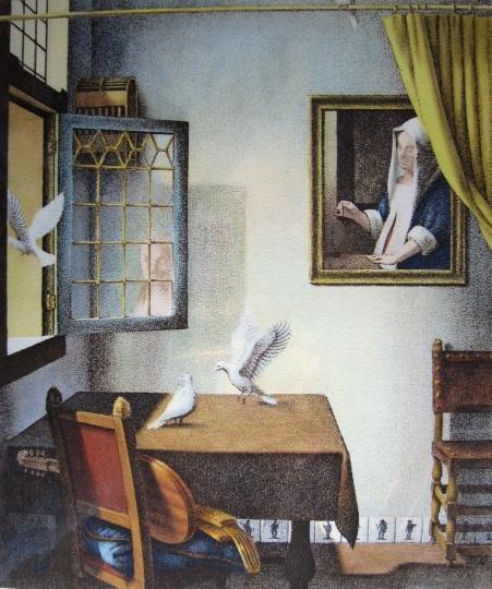 Artner Margit: Jan Vermeer emlékére