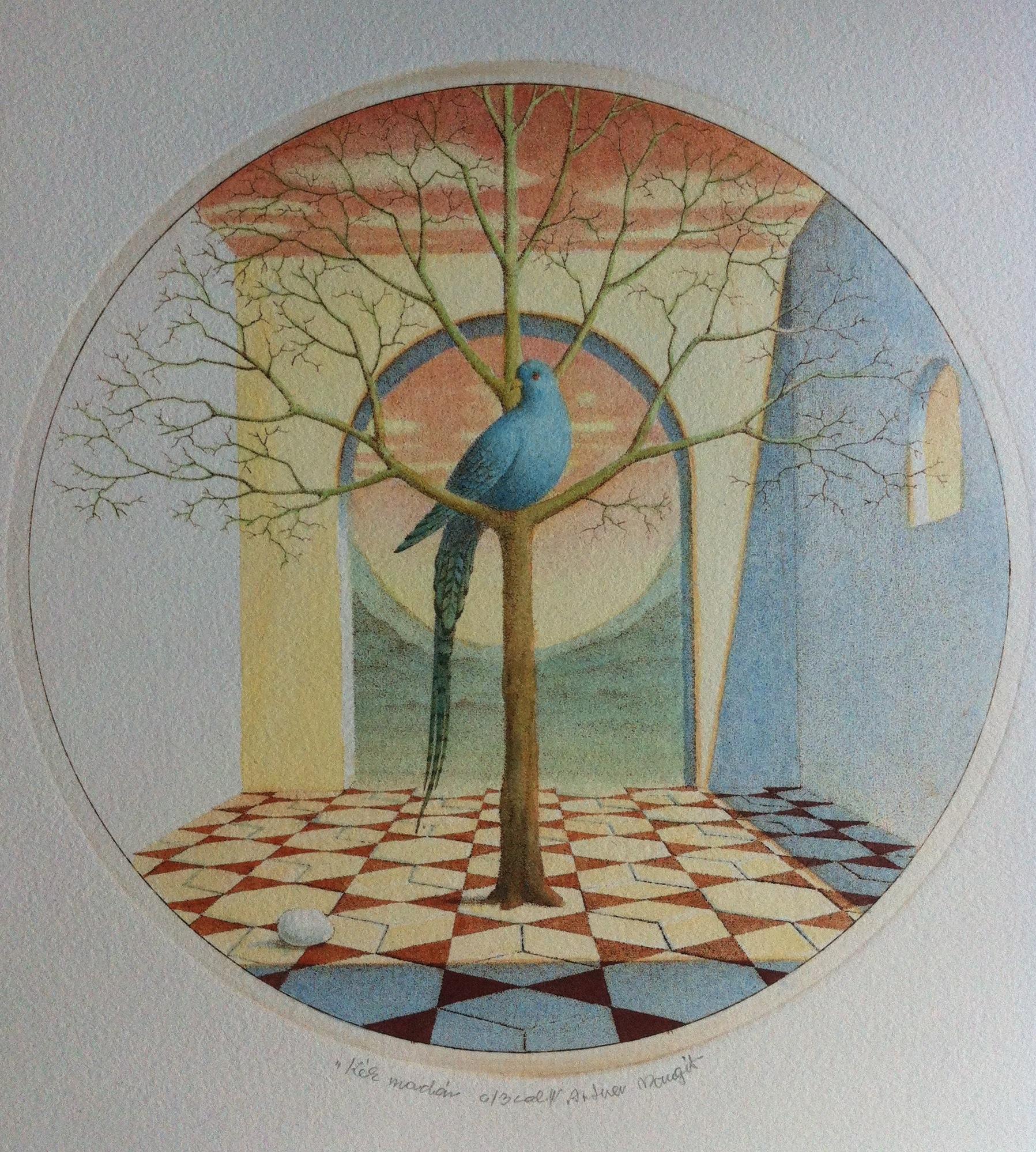 Artner, Margit: Blauer Vogel