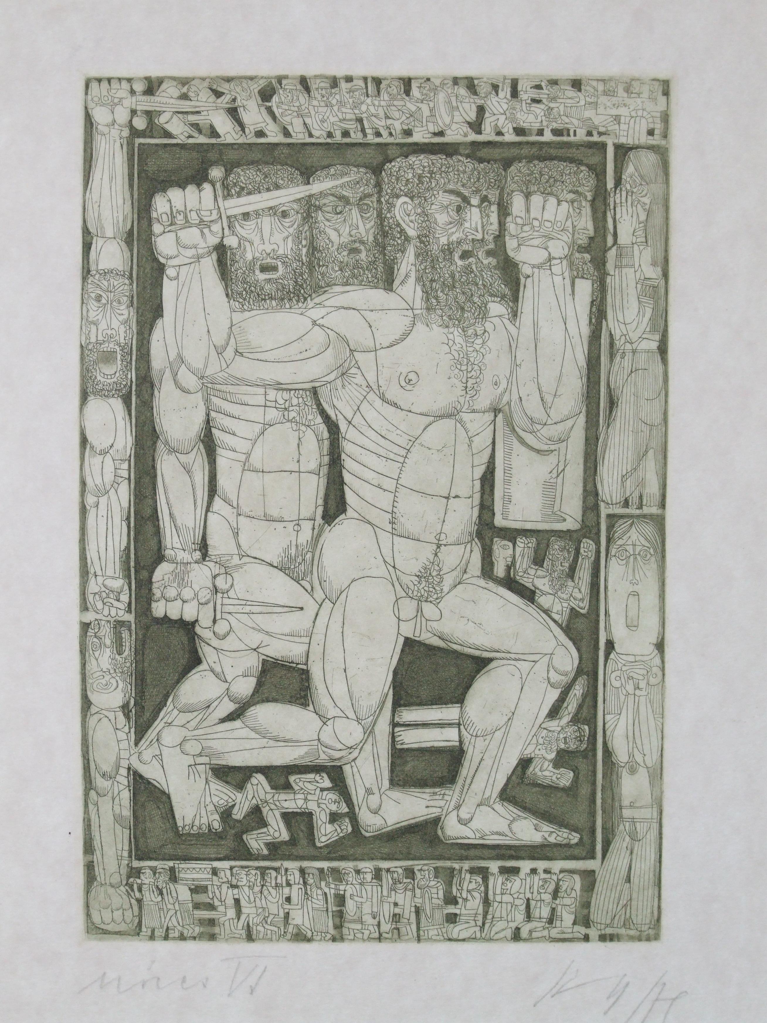 Kass János: Mózes VI
