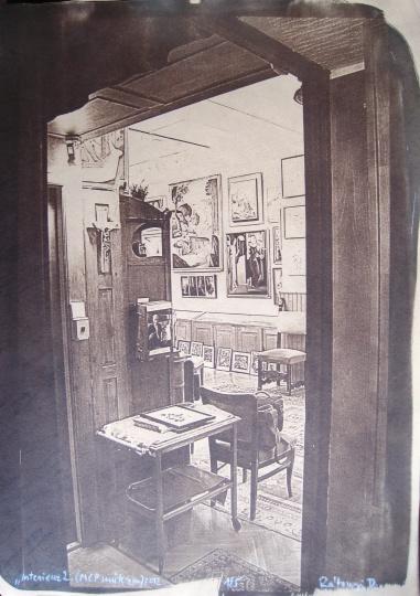 Rátonyi, Dávid: Interieur II. (Studio of Molnár C. Pál)