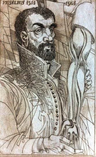 Kass János: Orvosportrék - Vesalius 1514-1564