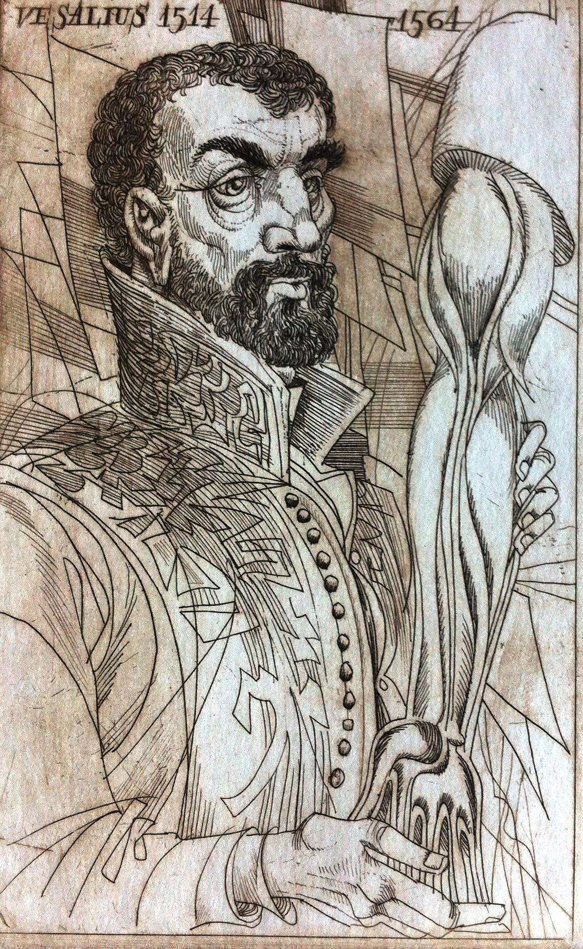 Kass, János: Doctor portraits - Vesalius 1514-1564