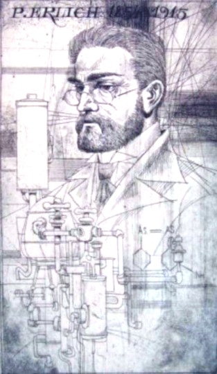 Kass, János: Doctor portraits - P. Erlich