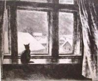 Szőnyi, István: Die Katze im Fenster