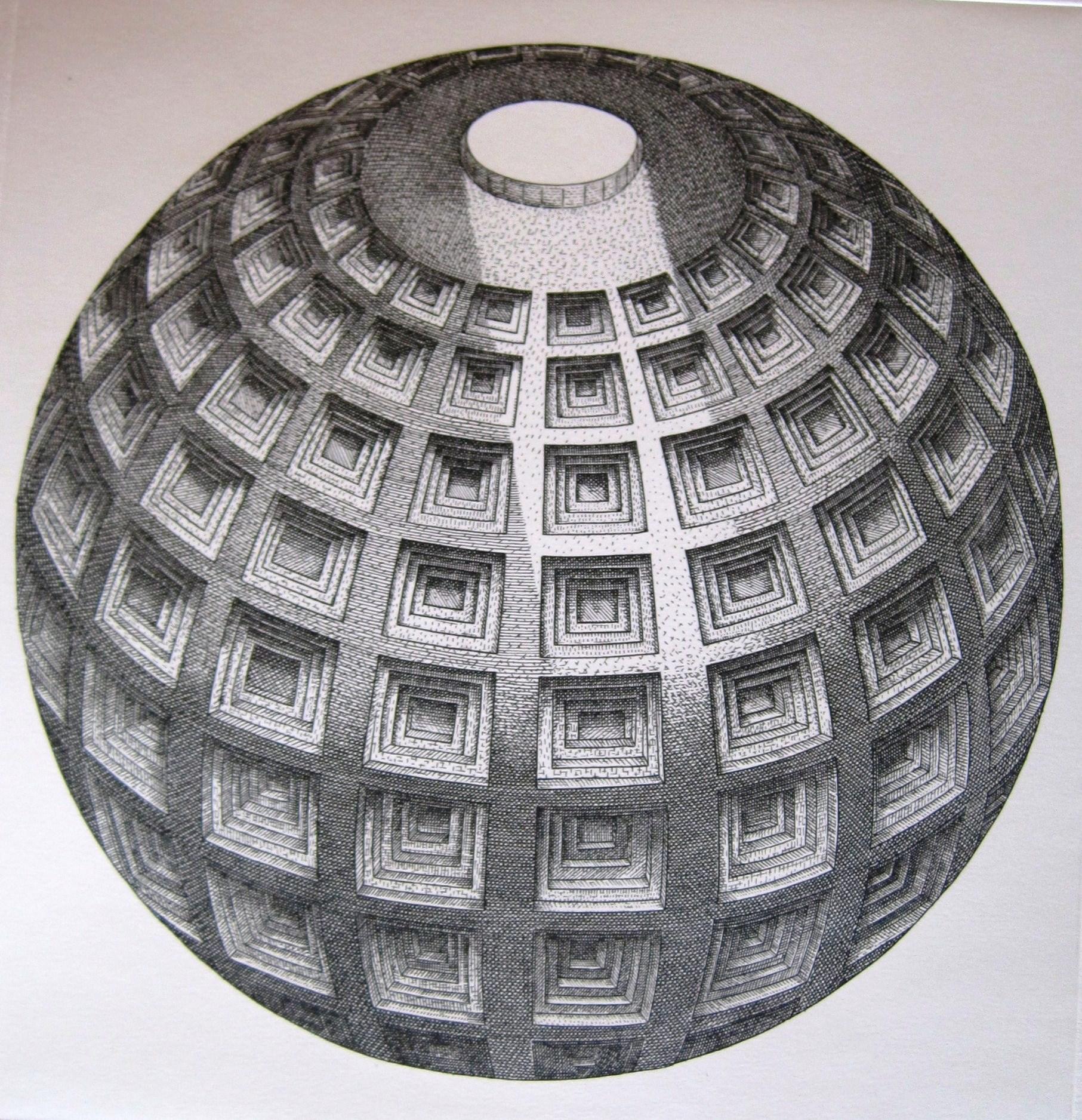 Orosz, István: The globe (Pantheon paraphrase)
