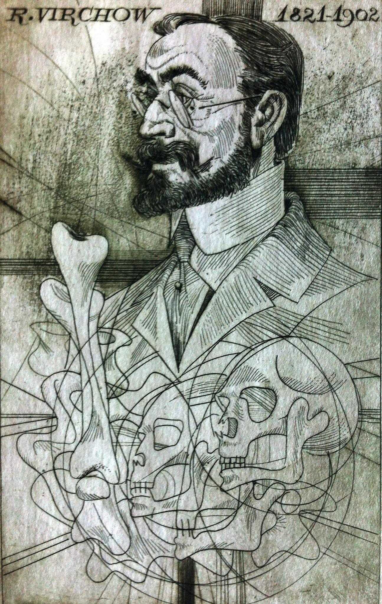 Kass, János: Aerzteportraits - Virchow 1821-1902
