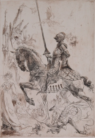Dobesch, Máté: The month of Saint George - April