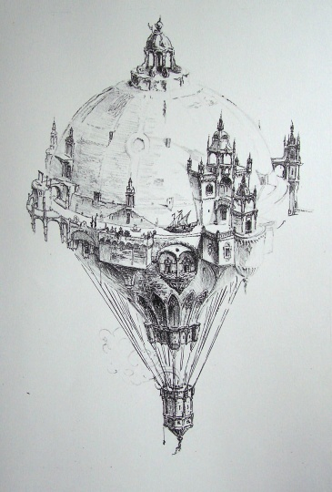 Dobesch, Máté: Stone-air balloon