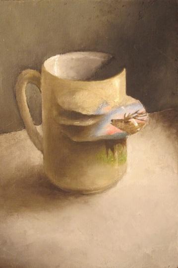 Szenteleki, Gábor: Deer mug I