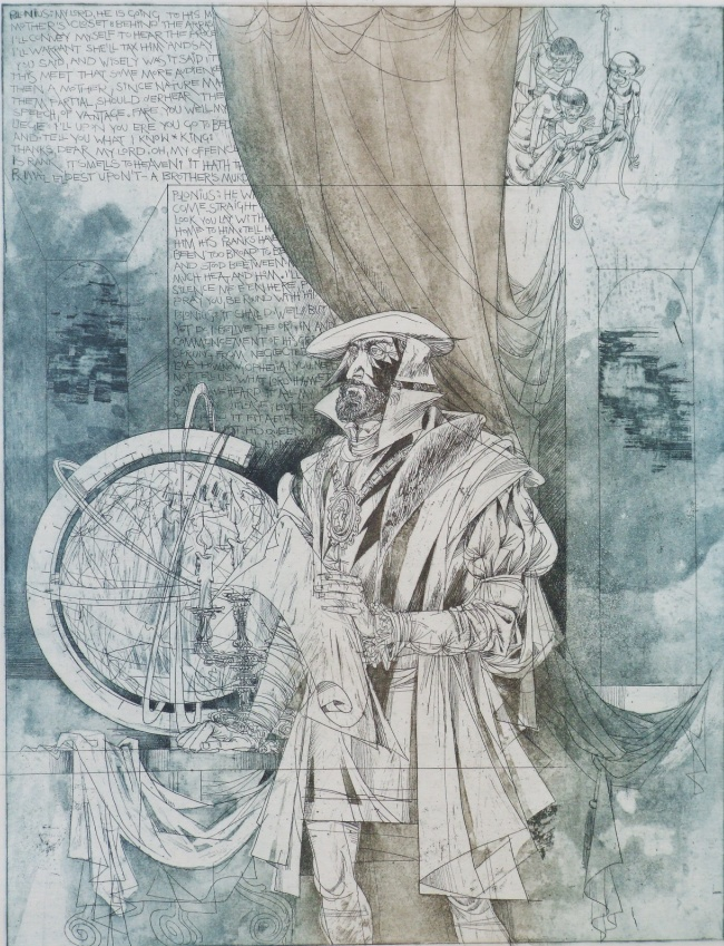 Kass, János: Hamlet V.