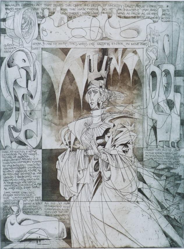 Kass János: Hamlet VII.