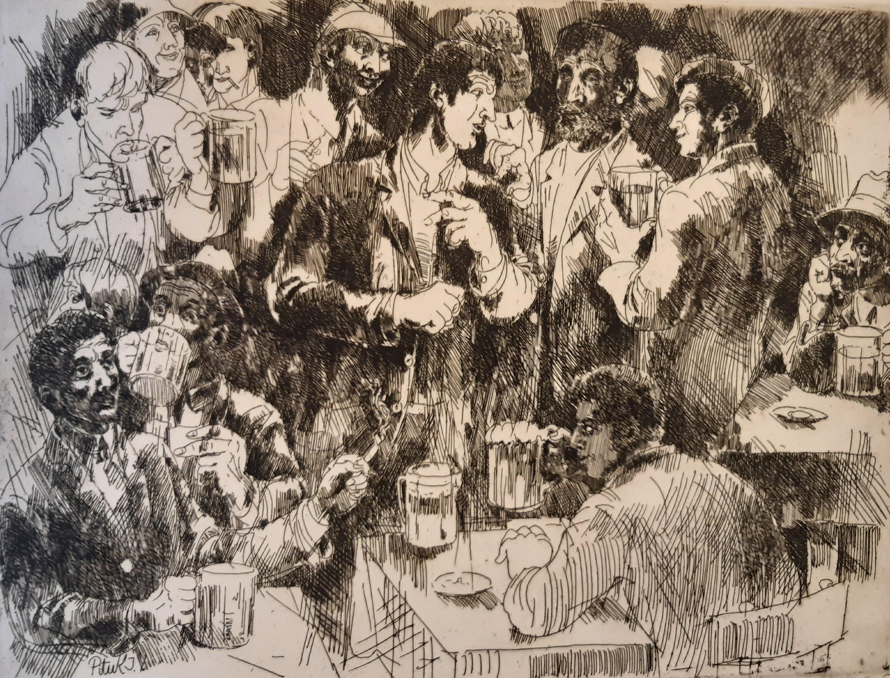 Pituk, József V.: In the pub
