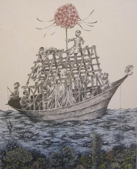 Molnár Gabriella: Épül a bárka