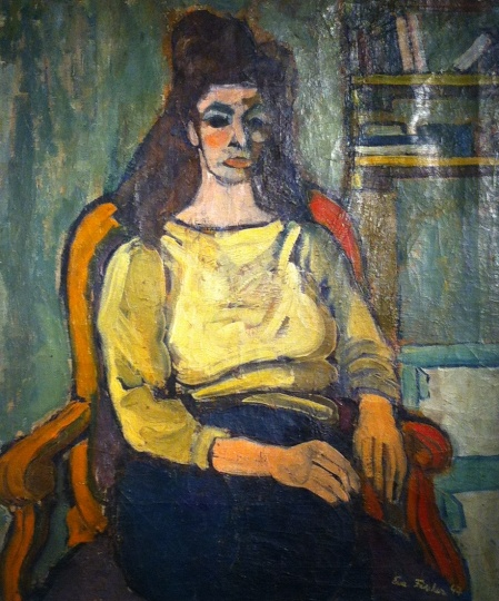 Fischer, Eva: Self portrait