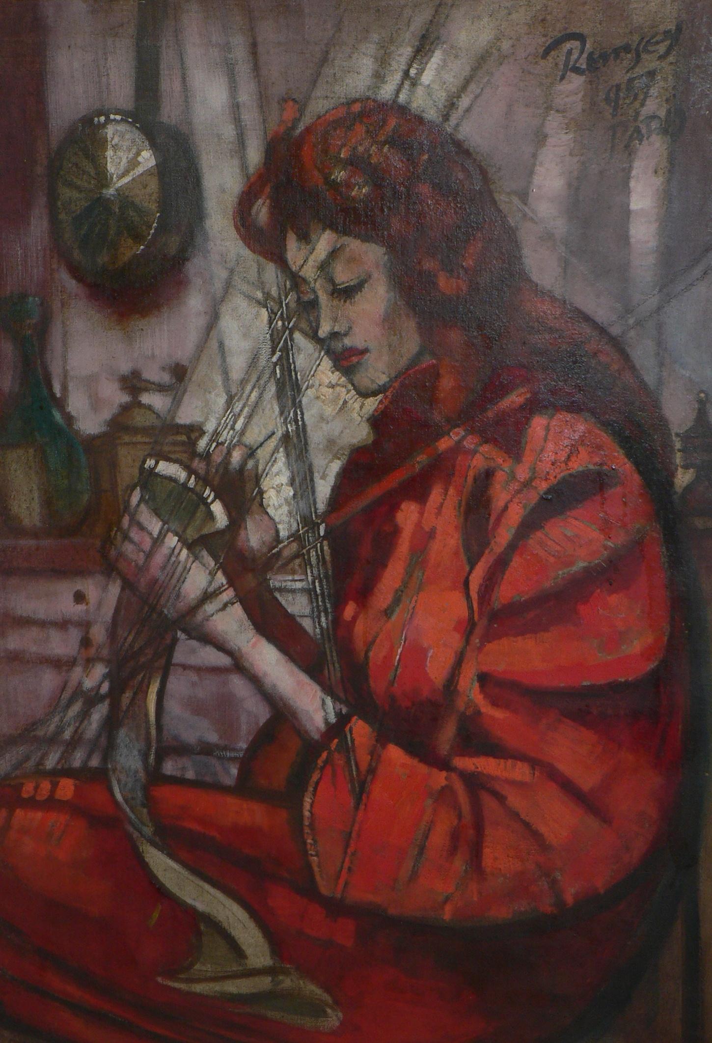 Remsey, Jenő György: Needlewoman