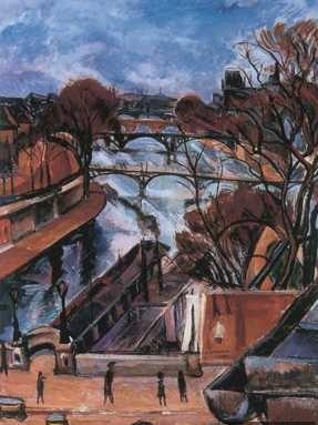 Perlrott, Csaba Vilmos: Paris - Ufer der Seine