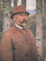 Szinyei Merse, Pál: Self portrait