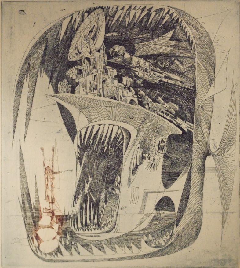 Kass János: A nagy hal / Szent Antal megkísértése
