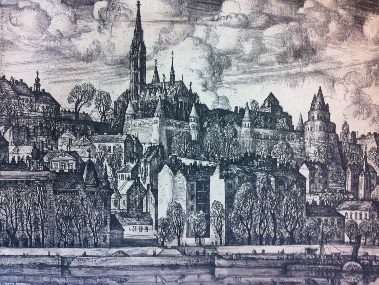 Szabó, Vladimir: Die von Burg von Pest gesehen