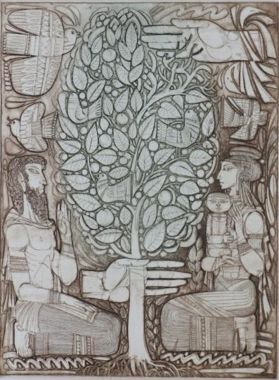 Kass, János: Bilder aus dem Alten Testament III