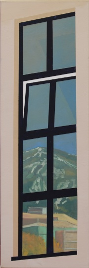 Kondor, Attila: Individuation (Window reflecting mountain I.)